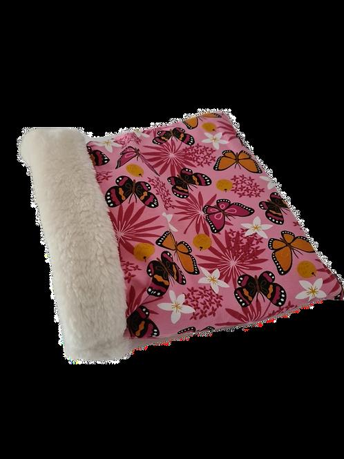 Meerschweinchen Kuschelsack | Plüsch | Pink Butterfly