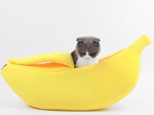 Cat Banana Boat