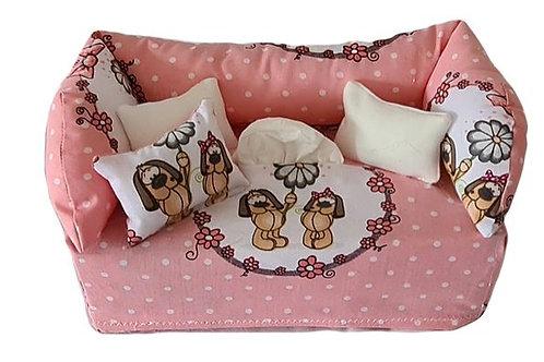 Taschentuchsofa | Süße Hunde
