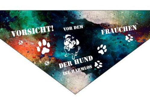 Hunde Halstuch | Personalisiert mit Name und Telefonnummer