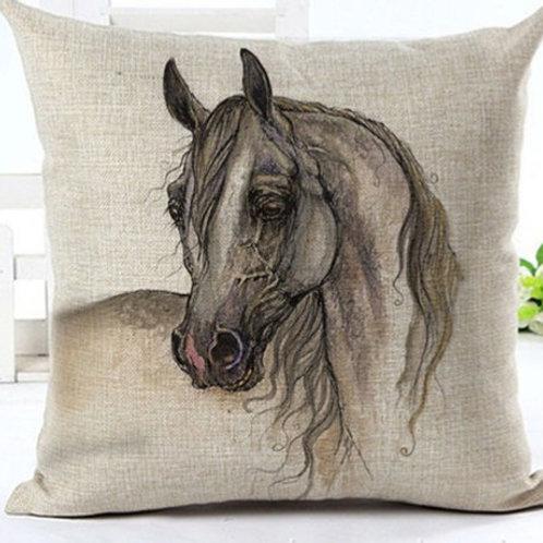 Pferdekopf Kissen