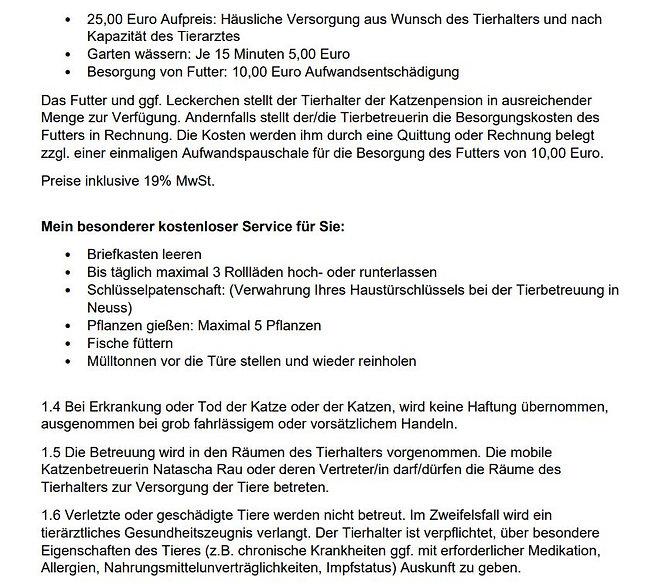 AGB mobile Katzenbetreuung Stand 31.01.2