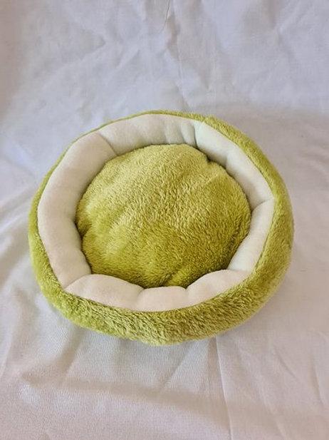 Donut Kuschelkissen | grasgrün | 28 cm