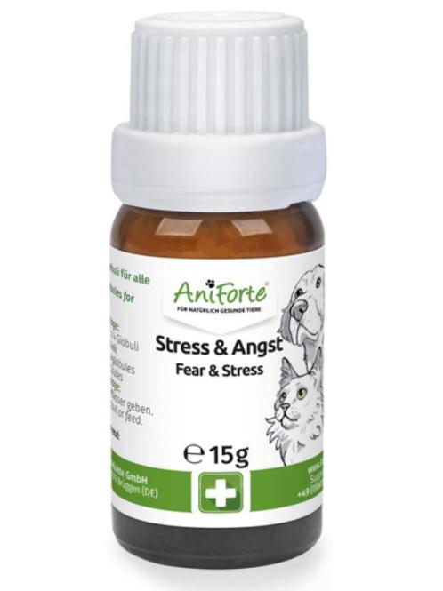 AniForte Stress & Angst Globuli Bachblüten