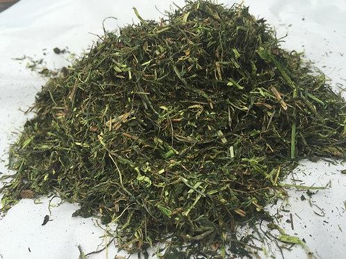 Grüne Wiese   Energiereiches, getrocknetes Wiesengras