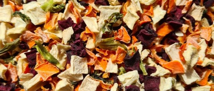 Bunte Gemüsemischung ohne Kräuter