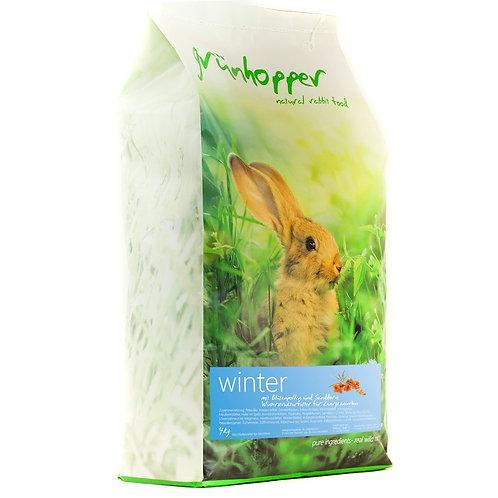 5kg Grünhopper Junior | Mischfutter für Kaninchen | Größe XL