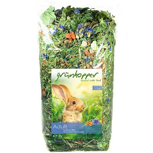 500g Grünhopper Adult  | Mischfutter für Kaninchen | Größe XS