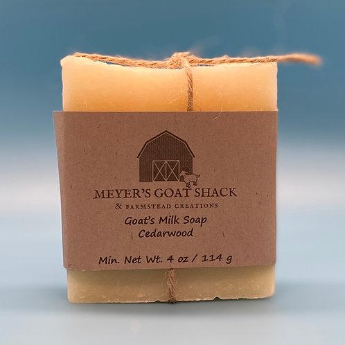 15-HHR | Cedarwood Goat Milk Soap