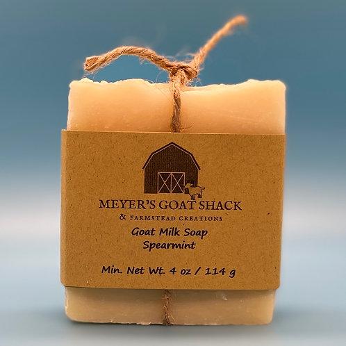 05-SHR - Spearmint Goat Milk Soap