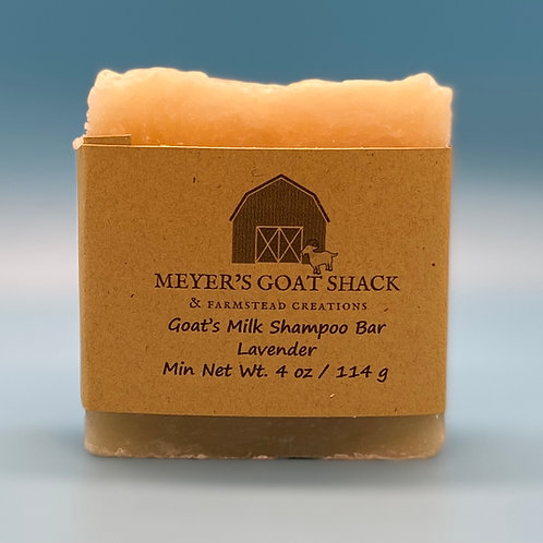 24-SHB | Lavender Goat Milk Shampoo Bar