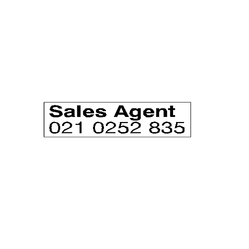 LJ Hooker - Small Agents A/Hrs Stickers