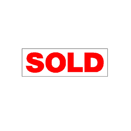 Generic Product - Sold Overlay Sticker (550mm x 180mm)