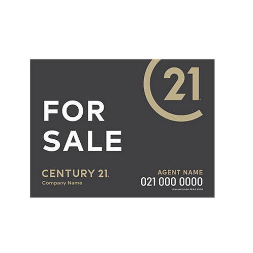 Century 21 - For Sale Landscape Site Signs(1180 x 880mm)