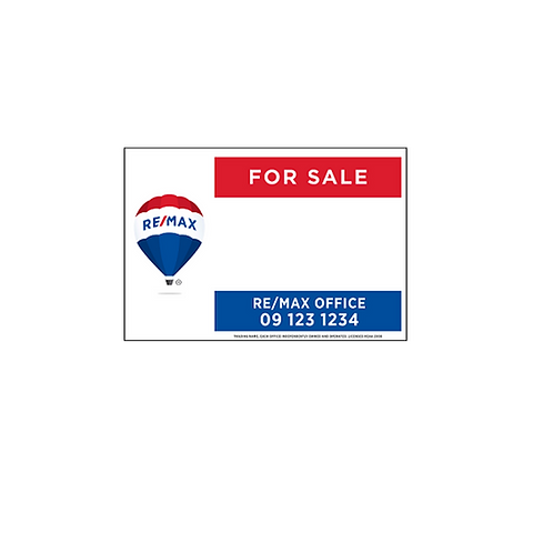 REMAX - For Sale Site Signs(900x600mm)