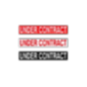 Under Contract Stickers