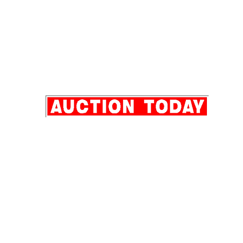 Generic Product - Auction Today Sign Strip(900mm x 120mm)