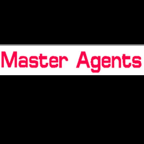 Harveys - Master Agents Overlay Stickers(385mm x 70mm)