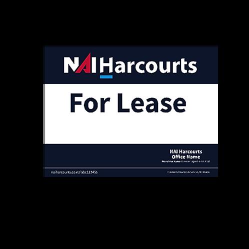 Harcourts - For Lease (1180 x 880mm) - Landscape