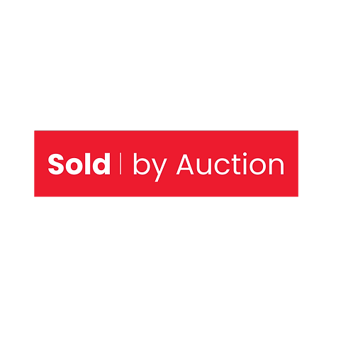 LJ Hooker - Sold By Auction (680mm x 185mm)