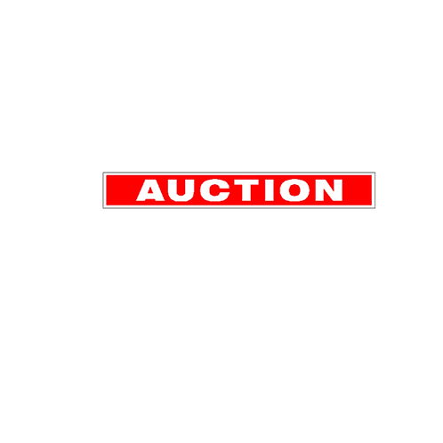 Generic Product - Auction Sign Strips(900mm x 120mm)