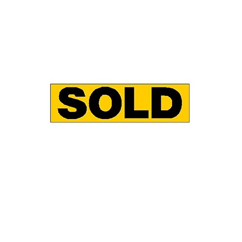 Generic Product - Sold Overlay Sticker (500mm x 140mm)