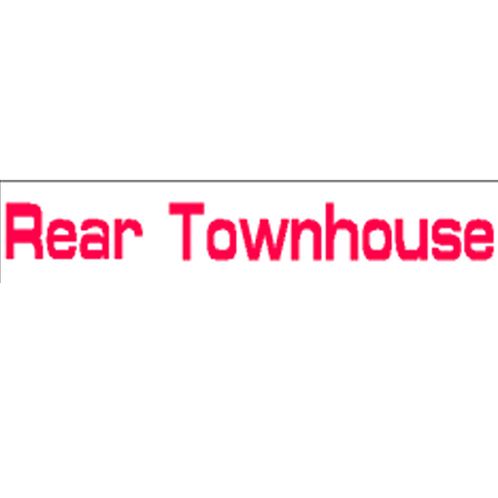Harveys - Rear Townhouse Overlay Stickers(385mm x 70mm)