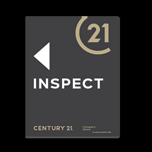Century 21 -  Portrait Inspect Arrow Signs(430 x 580mm)