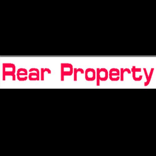 Harveys - Rear Property  Overlay Stickers(385mm x 70mm)
