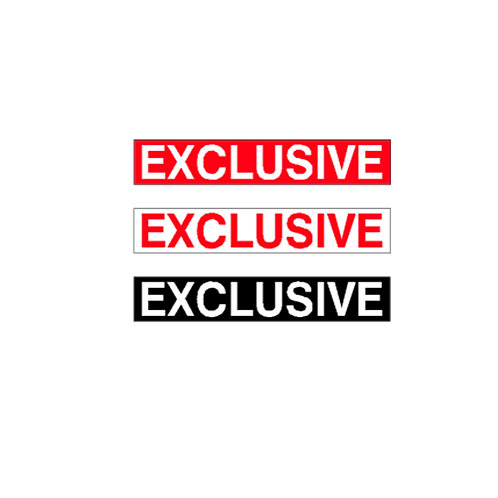 Generic Product - Exclusive Stickers (375mm x 65mm)