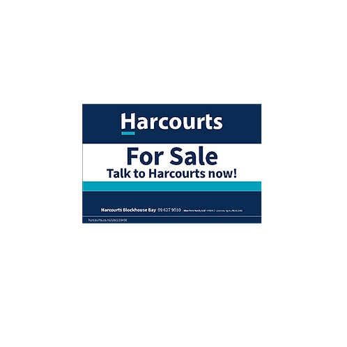 Harcourts - For Sale Talk to Harcourts Now(880 x 580mm)