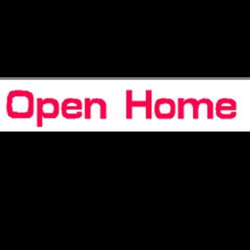 Harveys - Open Home Overlay Stickers(385mm x 70mm)