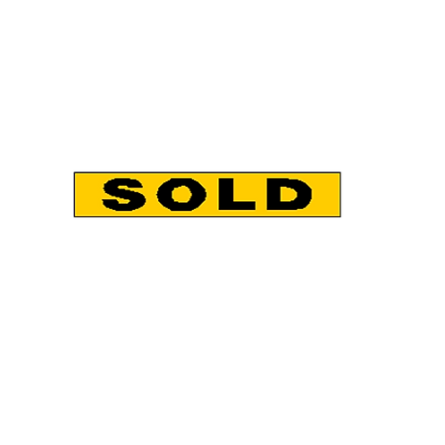 Generic Product - Sold Overlay Sticker (350mm x 60mm)