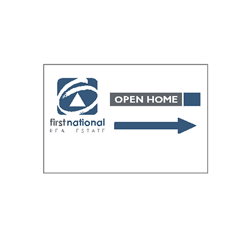 first national - Open Home Directional Arrow(600*400)
