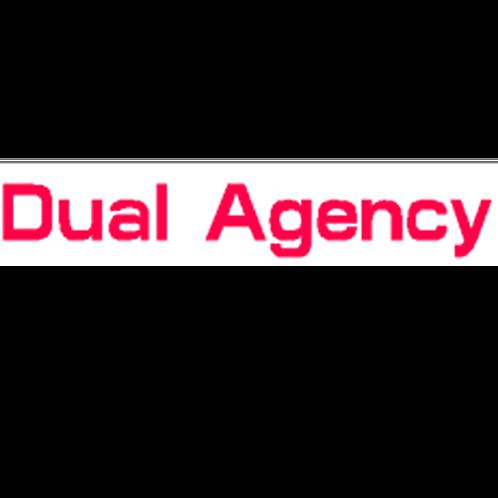 Harveys - Dual Agency  Overlay Stickers(385mm x 70mm)