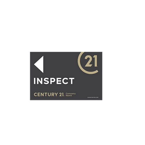 Century 21 -  Selmax  Inspect Arrow Signs(450 x 300mm)