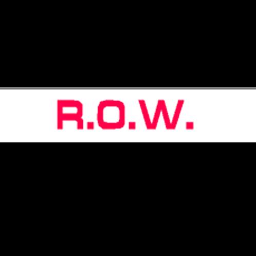 Harveys - ROW Overlay Stickers(385mm x 70mm)