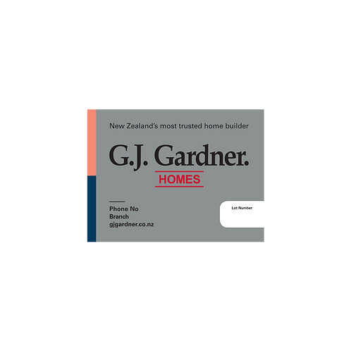 GJ Gardner - Lot Signs(800mmx600mm)