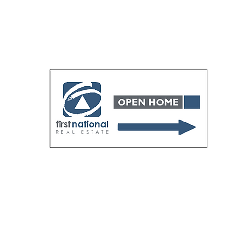 first national - Open Home Directional Arrow(600*300)