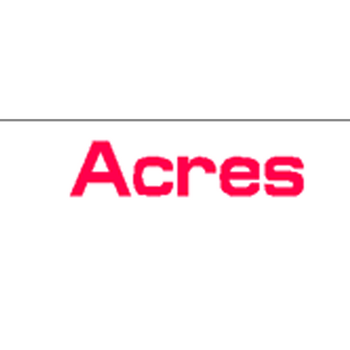 Harveys - Acres Overlay Stickers(385mm x 70mm)