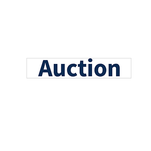 Harcourts - Auction Stickers(730 x 150mm)