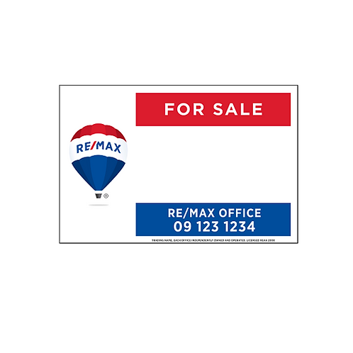 REMAX - For Sale Site Signs(1200x900mm)