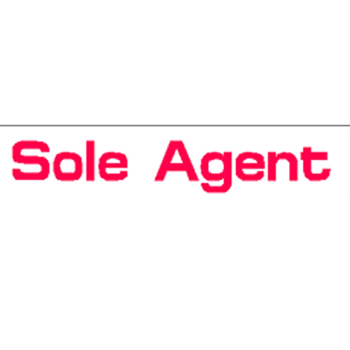 Harveys - Sole Agent Overlay Stickers(385mm x 70mm)