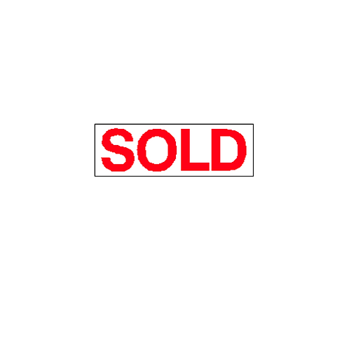Generic Product - Sold Overlay Sticker (300mm x 100mm)