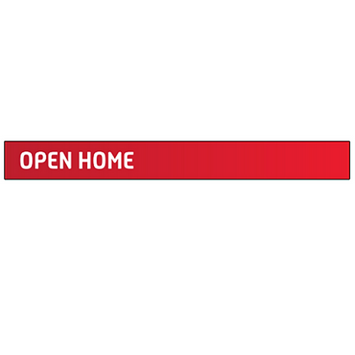 Professionals - Open Home Signs Strips