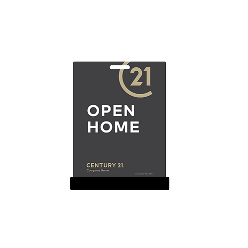 Century 21 - Footpath Signs(Open Home)