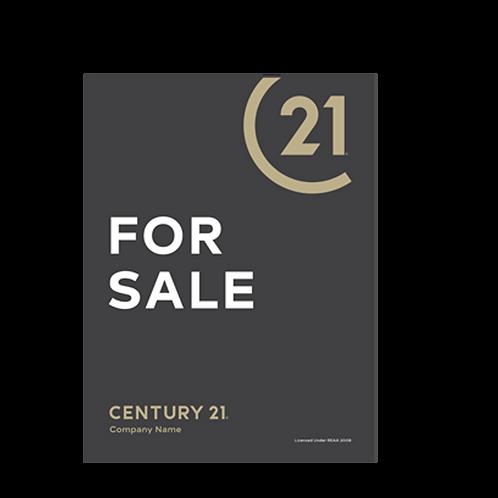 Century 21 - For Sale Portrait Site Signs(880 x 1180mm)