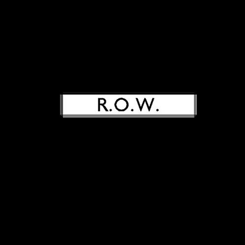 Generic Product - R.O.W Unit Sticker (175mm x 55mm)