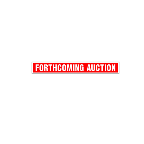 Generic Product - Forthcoming Auction Sign Strip(900mm x 120mm)