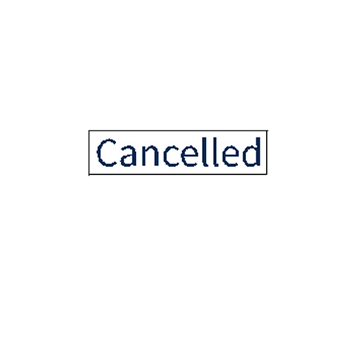 Harcourts - Cancelled  Overlay Stickers(150 x 37mm)